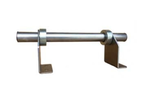 Snow rail for metal roofs, Deck Mount Snow Rail, Single Bar Snow guard, Pipe Style Snow Guards