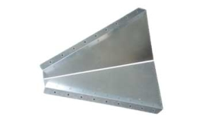 Snow diverter, snow guards, protects roof pipe from sliding snow, keeps roof pipes from being bent or ripped off.