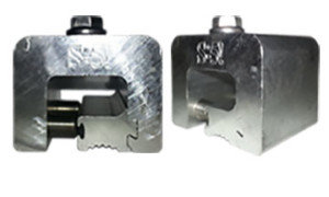 S-5-H Clamp for metal roof panels with horizontal seams