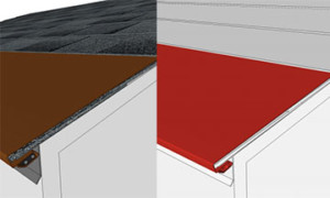 prevent ice dams and roof leaks on shingle roofs