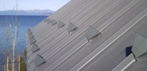 Rib Guard snow guard, for sanding seam metal roof 2' high, rib guard snow stop with color armor