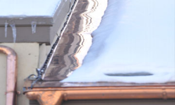 hotedge hotflashing heat tape SNOW GUARD