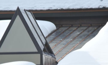 hotedge hotseam heat tape SNOW GUARD