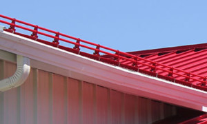 s-5 roof mounting products, Clamp-on snow stops, standing seam metal roofs