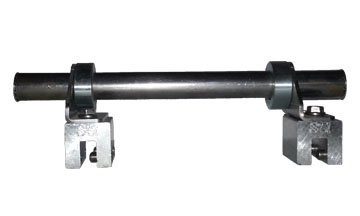 Snow Rail with S5 Roof Clamps includes a one pipe single rail snow system used with the s 5 clamp and is an alternative to the S-5 DualGard Pipe Snow Rail System